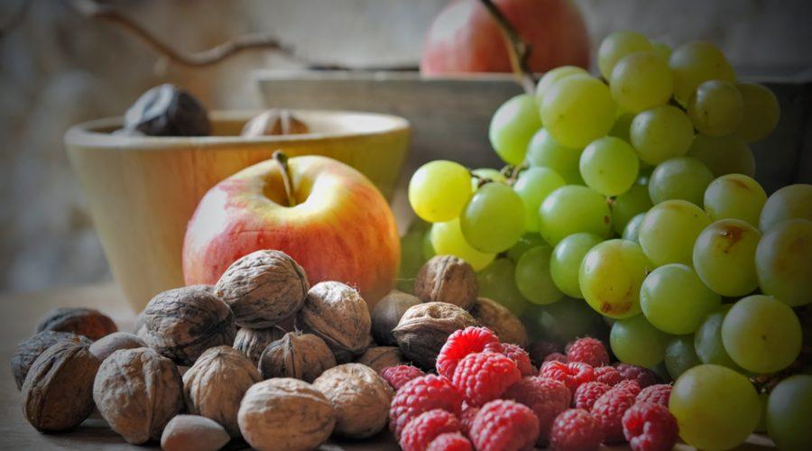 frutta fresca e secca