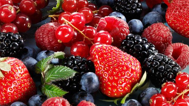 i frutti rossi