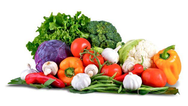 varietà differenti di verdura