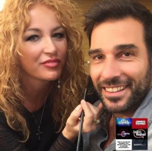 Leonardo Leo e Luisa Festa make-up artist a Sanremo 2018