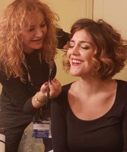Luisa Festa trucca Carlotta Proietti