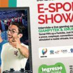Il 29 e 30 settembre E-Sport Show a San Giovanni La Punta