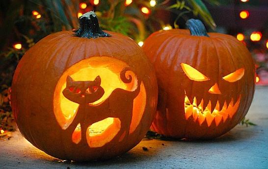 la zucca di halloween