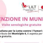 Milano. Visite senologiche gratuite al Municipio 4 in collaborazione con LILT