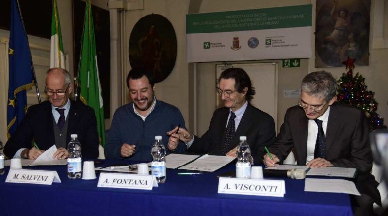 Milano laboratorio regionale di genetica forense