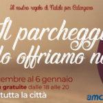Natale a Catanzaro: il parcheggio lo offriamo noi