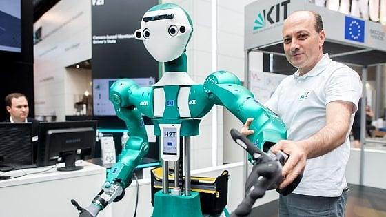 Sistemi robotici nell'assistenza sanitaria