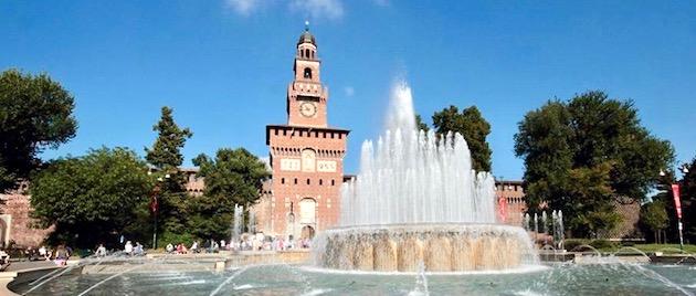 conservazione dei libri Castello Sforzesco Milano