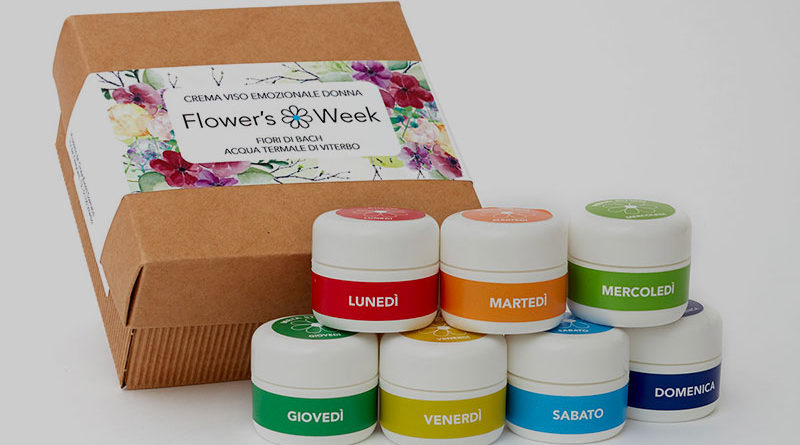 fiori di Bach crema viso week donna product