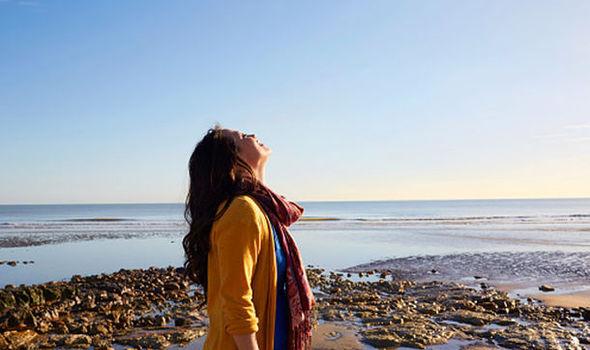 Respirare l'aria di mare
