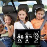 Adesivi famiglia: viaggiare senza capricci