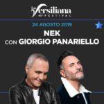 La Versiliana: Nek insieme a Panariello