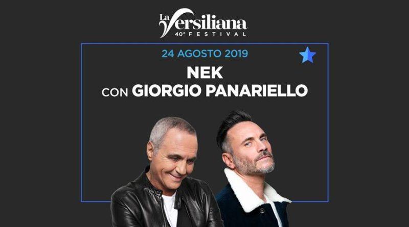 La Versiliana NEK con la partecipazione di Giorgio Panariello