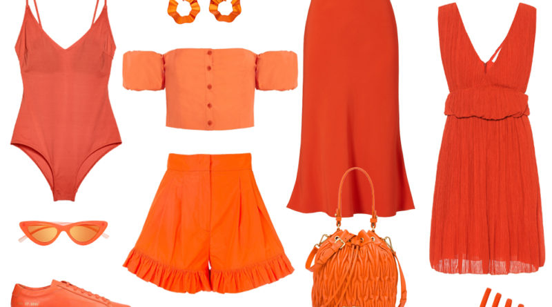 L'estate 2019 veste color arancio