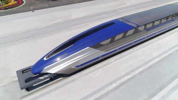 Il treno veloce a levitazione magnetica