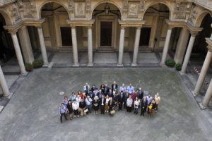 Stanze del Silenzio a Milano - foto di gruppo