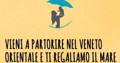 Vieni a partorire nel Veneto Orientale e ti regaliamo il mare