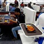 Cameriere robot serve i pasti: la ristorazione punta sull'automazione
