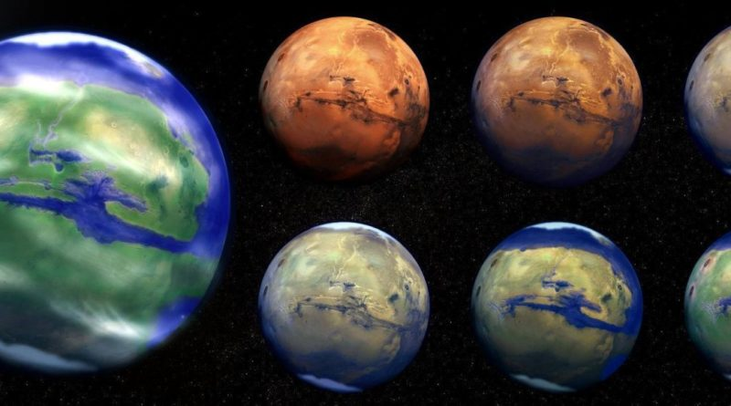 Terraformare Marte per renderlo abitabile