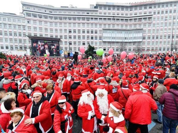 Raduno dei Babbi Natale