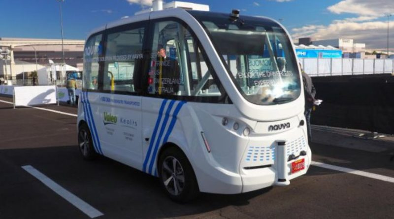 Singapore bus senza conducente