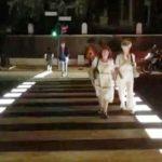Attraversamenti a led per la sicurezza dei pedoni a Roma