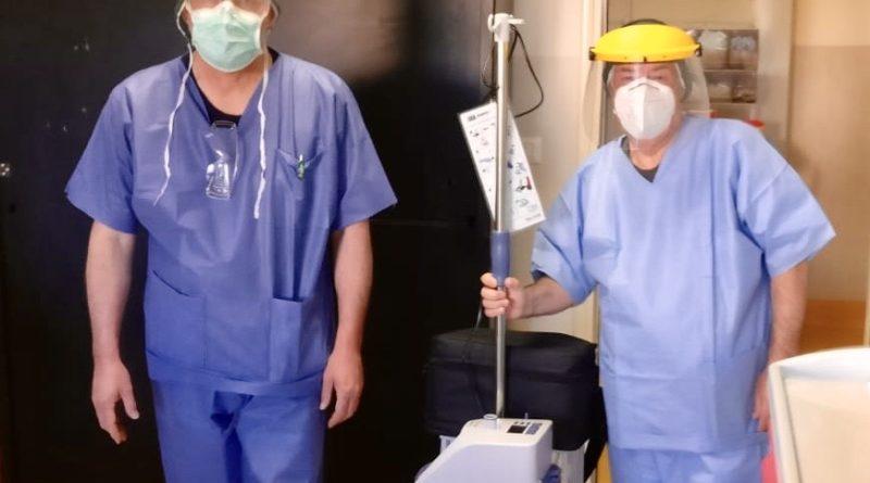donazione covid-19 ospedale Jazzolino Vibo Valentia
