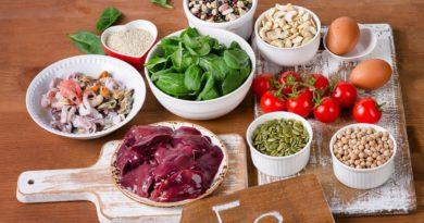 il ferro nella dieta