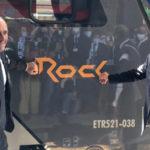 Il nuovo treno Rock in funzione nel Lazio