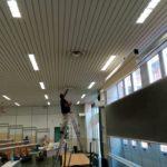 All'Unical di Rende lavori in corso per la ripresa delle lezioni: aule più sicure e moderne