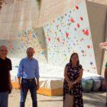 Nuova palestra di arrampicata sportiva ai Giardini pubblici di Cagliari
