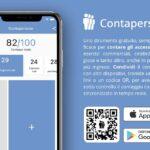 L'app Contapersone permette di gestire in facilità e gratuitamente gli accessi