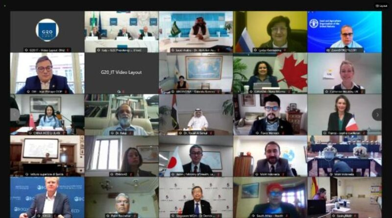 G20 riunione del Gruppo di lavoro Salute