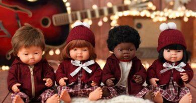 La bambola con la sindrome di Down