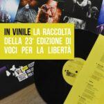 In vinile la raccolta della 23a edizione di Voci per la libertà – Una canzone per Amnesty