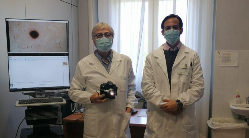 Prof. Maurizio Coppini dermatologo e dott. Agostino Mancuso Dir. Sanitario Villa Pineta