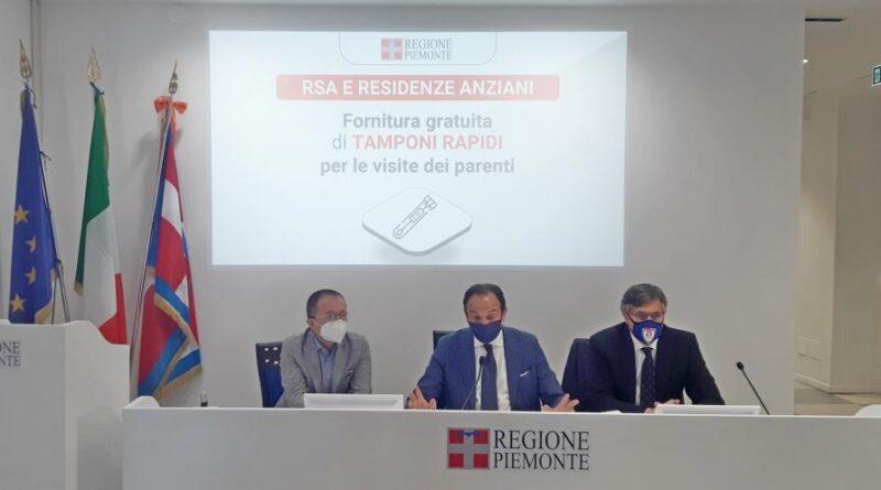 cirio tamponi rapidi ph ufficio stampa regione piemonte