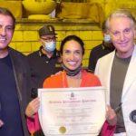 Noà ha ricevuto l'Attestato di benemerenza dell'Accademia Internazionale Mauriziana
